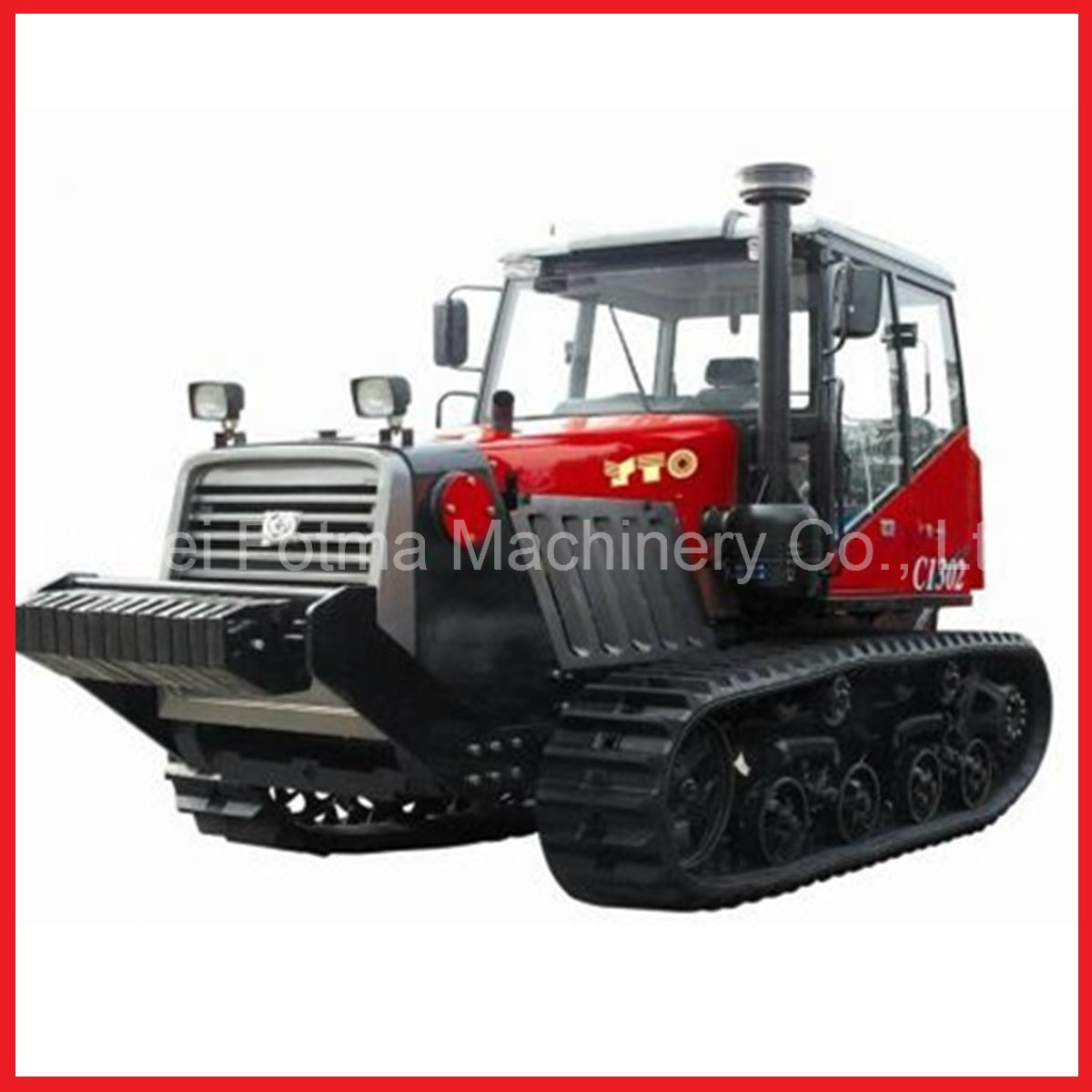 Hubei Tractor Parts : China hp yto tracked tractor farm crawler