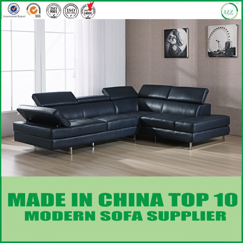 [Hot Item] Modern Living Room Furniture Italian Leather Sectional