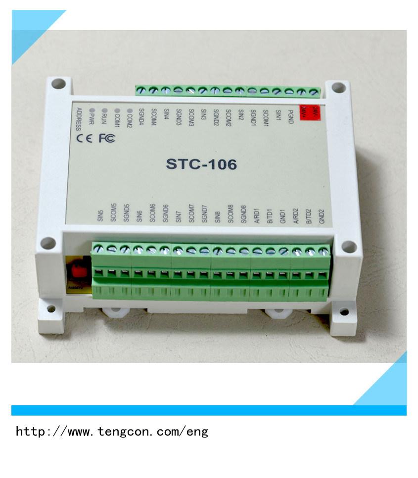 China Tengcon Stc-106 Rtd Input I/O Module with Modbus RTU - China ...