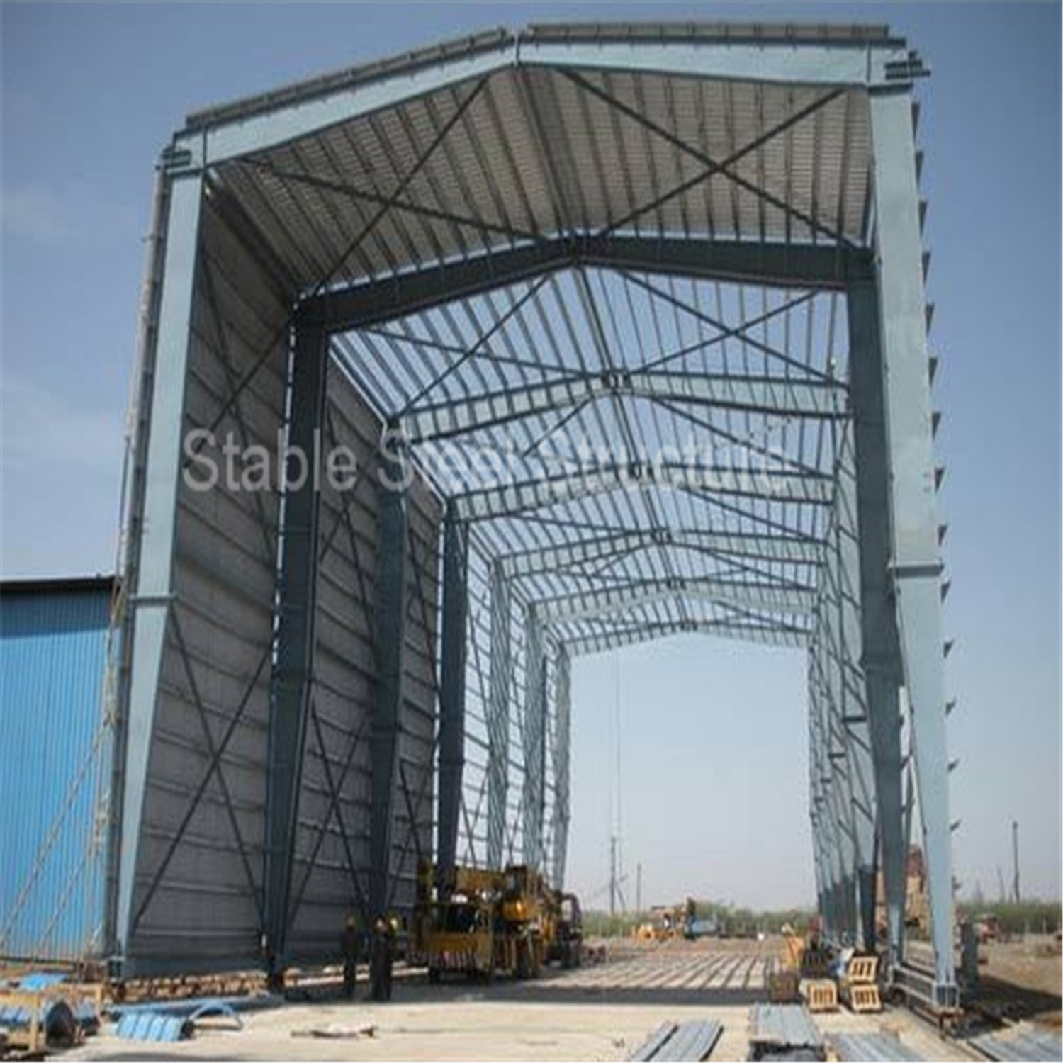 China Low Cost Steel Frame Structure Warehouse Building Kits - China ...