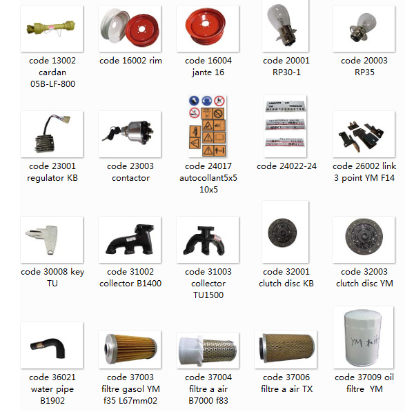 [Hot Item] Japanese Tractor Used Iseki Tractor Spare Parts