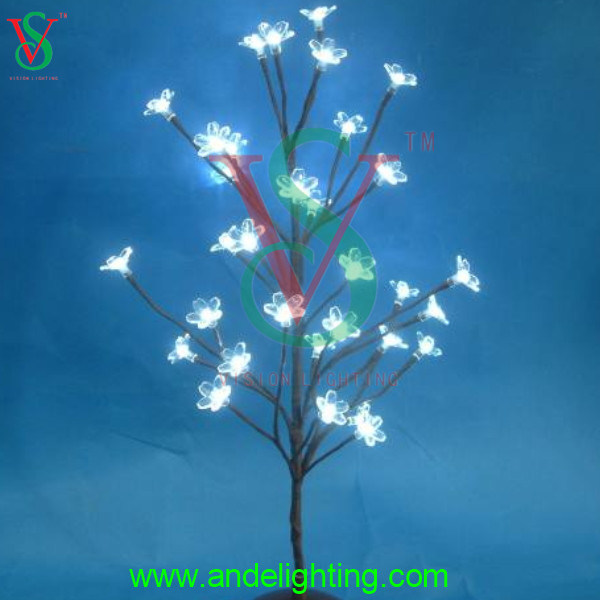 China Led Decoration Mini Flower Light Tree For Home