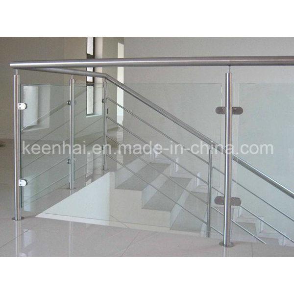 Stainless Steel Railings Glass Handrails Installation: China Stainless Steel Glass Stair Railing Of Handrail