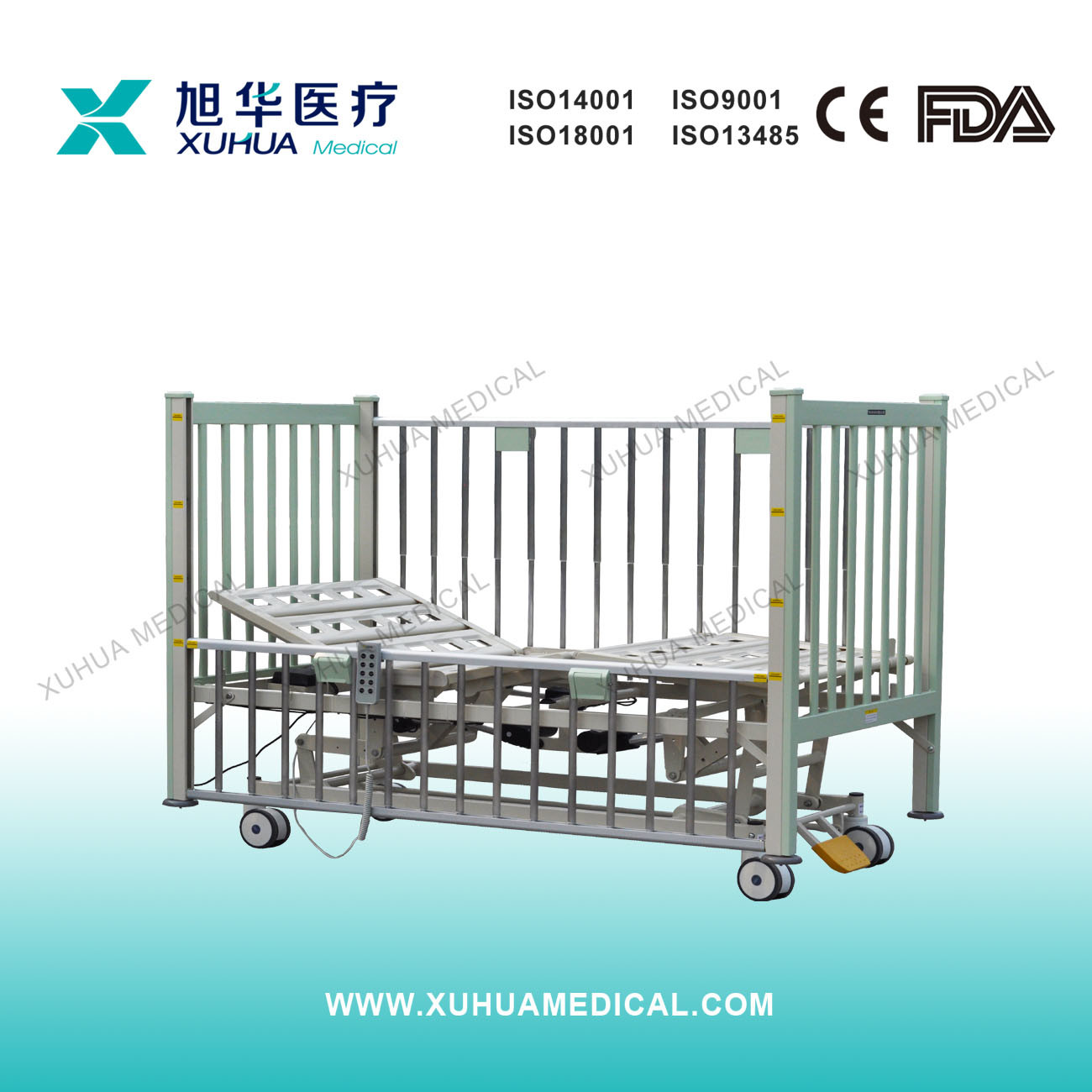 Infant Bed, Five Functions Electric Hospital Child Bed (D-13)