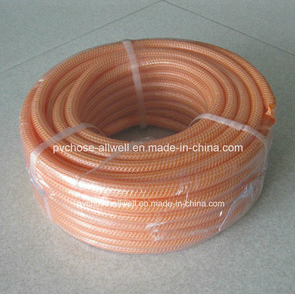China PVC Knitting Netting Braided Flexible Water Garden Hose 1 ...
