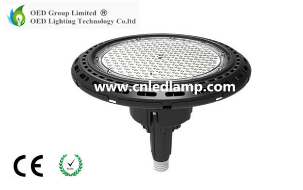 Hot Sale High Lumen E39 E40 UFO LED High Bay Light 200W Industrial Light with PC Lens