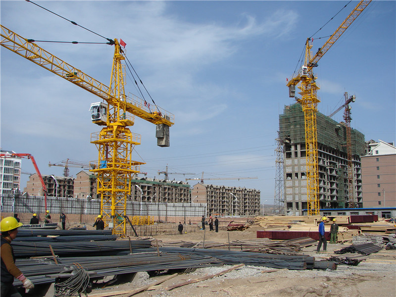 Crane Corporation in China Hstowercrane