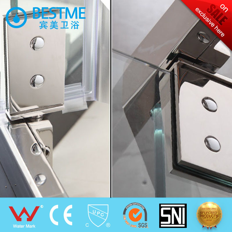China Single Door Shower Enclosure with Hinge for Bathroom (BL-L0040 on through wall door, through bedroom door, through garage door, through room door, through shower door, through glass door,