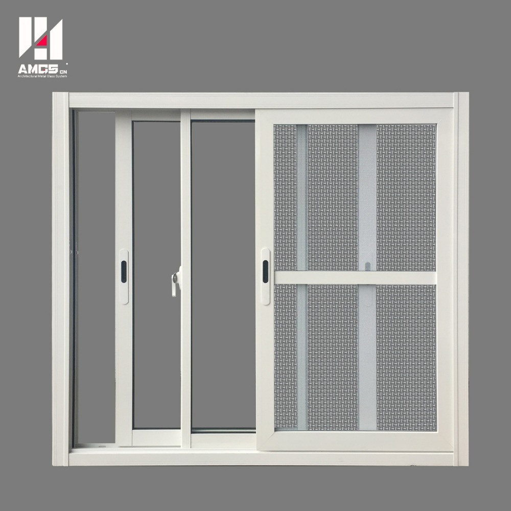 China Commercial Aluminum Sliding Window With Fly Screen China