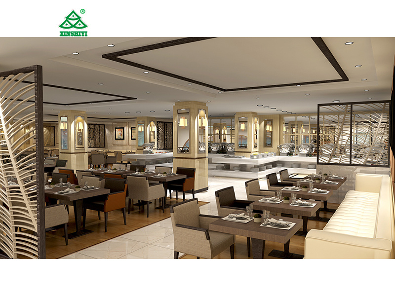 China dubai star hotel dining room furniture sets