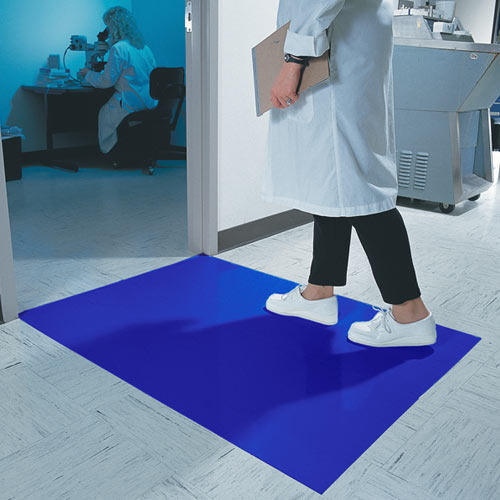 non pcsmaster sticky protection on tacky base floor new skid mats mat blue
