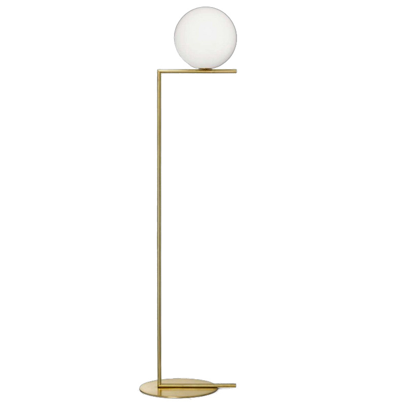 China Copper Floor Lamp With Gl Decorative Lighting