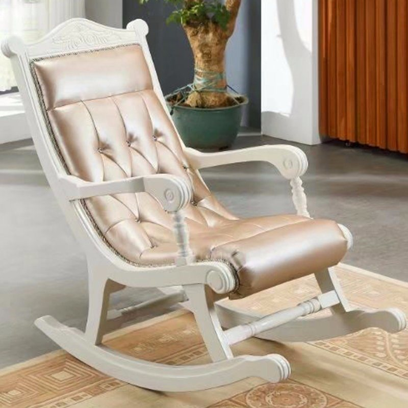 China Clic Leather Rocking Sofa Chair For Home Furniture