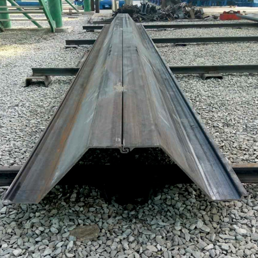 China Hot Rolled Steel Profiles Z Shape Sheet Pile Sheet