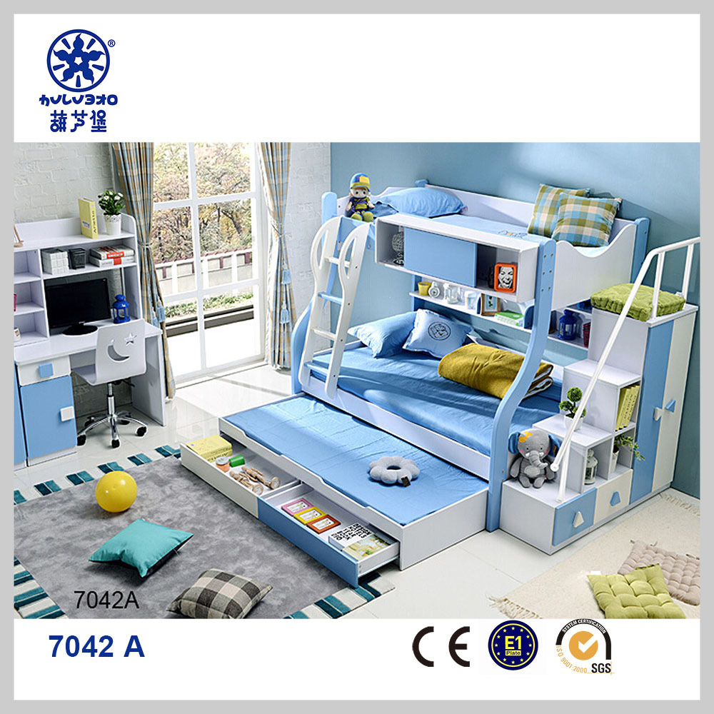 China Factory Directly Supply Children Triple Bunk Bed For Sale Item No 7042a China Triple Bunk Bed Triple Bed
