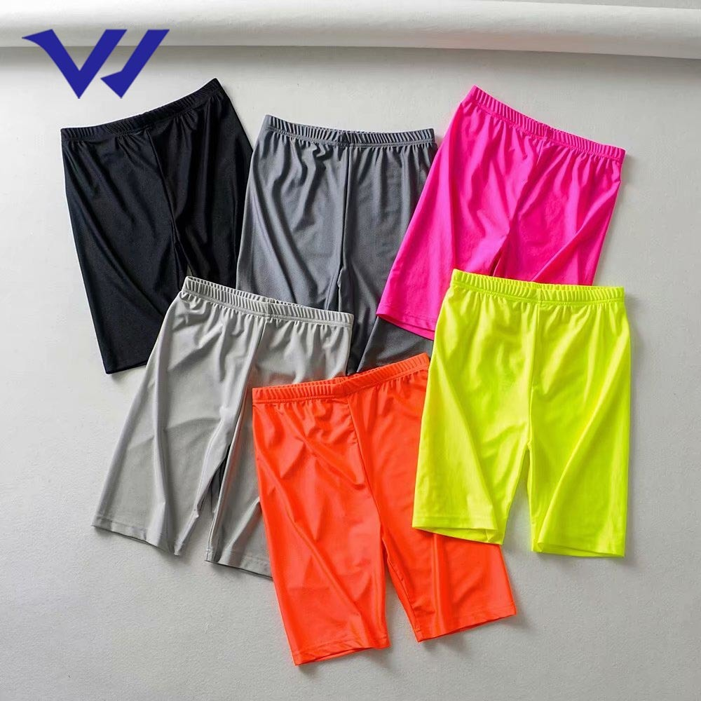 High Quality Biker Shorts Women Gym Yoga Sports Cycling Shorts Athletic Training High Waist Workout Biker Shorts
