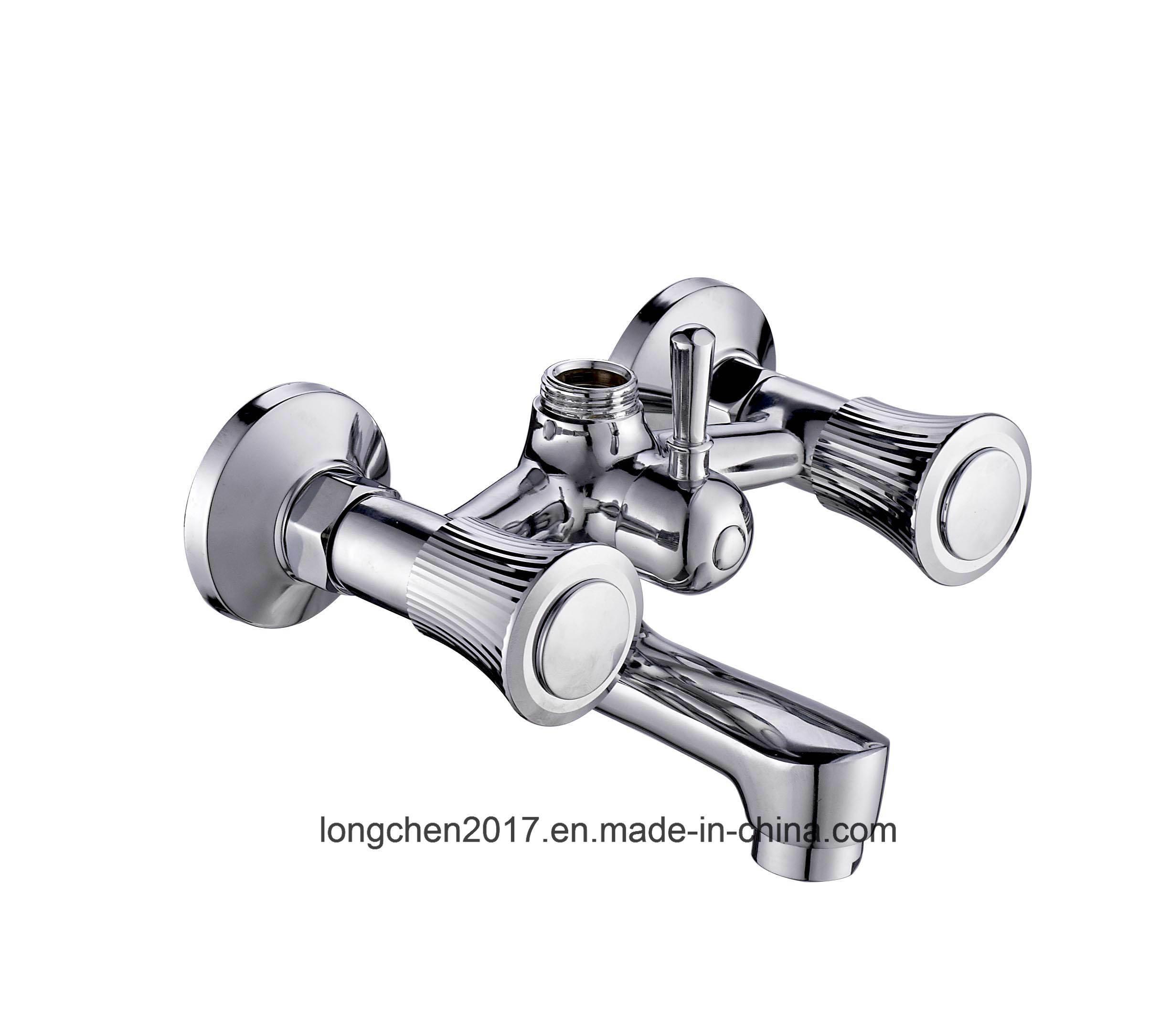 China Double Handle Bath Shower Faucet Model 60078 Sx