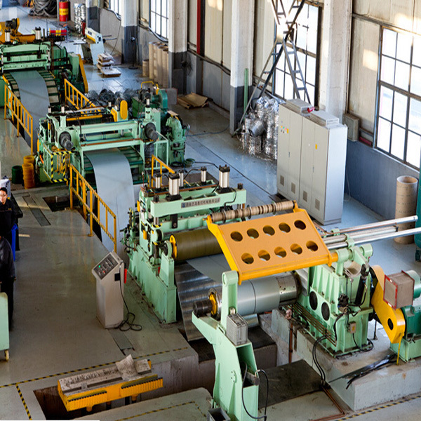 China Sheet Metal Slitting Machine For 8 Mm Thick And