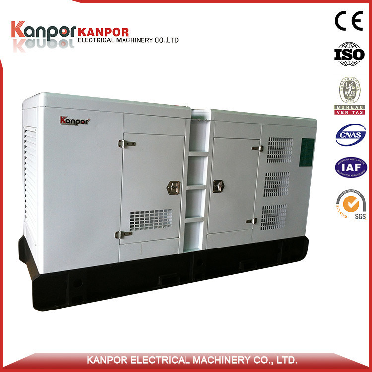 China 1100kw Soundproof Type Diesel Genset Used in Bank
