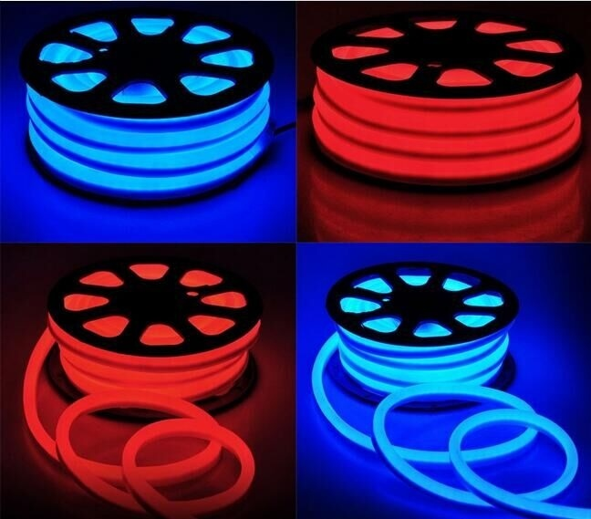 LED Neon SMD Rope Light 220V Outside Wall Decoration