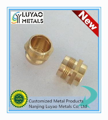 CNC Machining Process of Brass Part pictures & photos