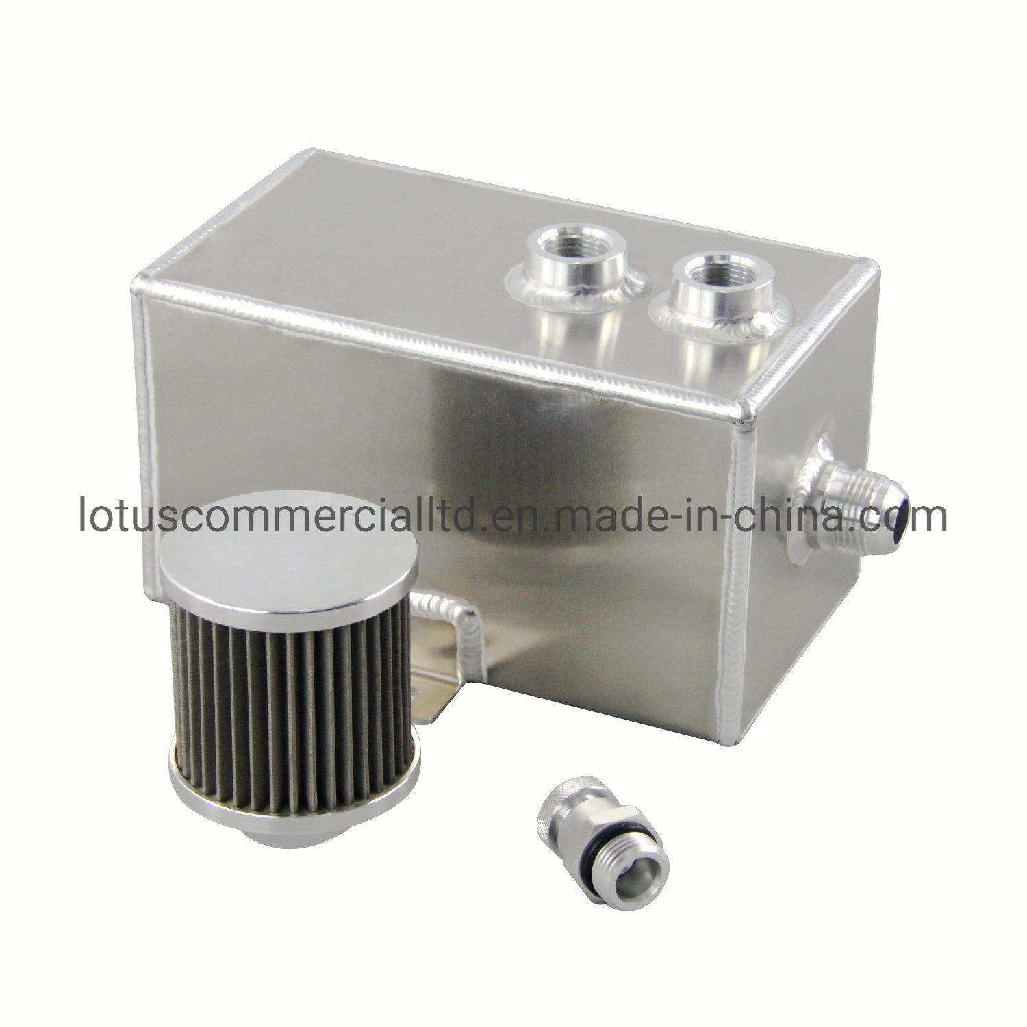 Oil Catch Can Kit Car Universal Oil Catch Can with Air Filters and Other Accessories Engine Tank Filters