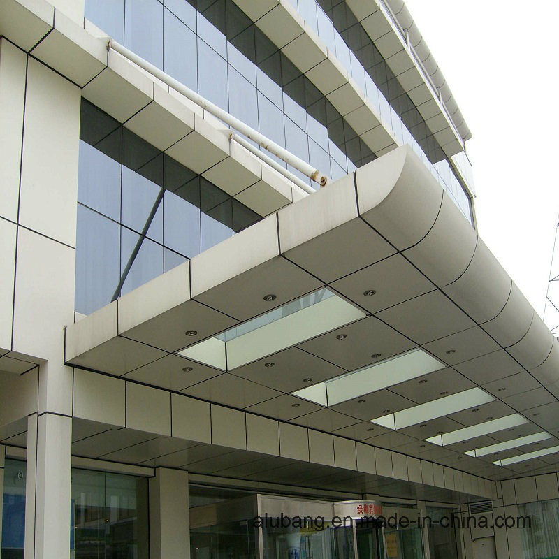 Outdoor Wall Cladding PVDF Aluminum Composite Panel (1220*2440*4mm) (ALB-008) pictures & photos
