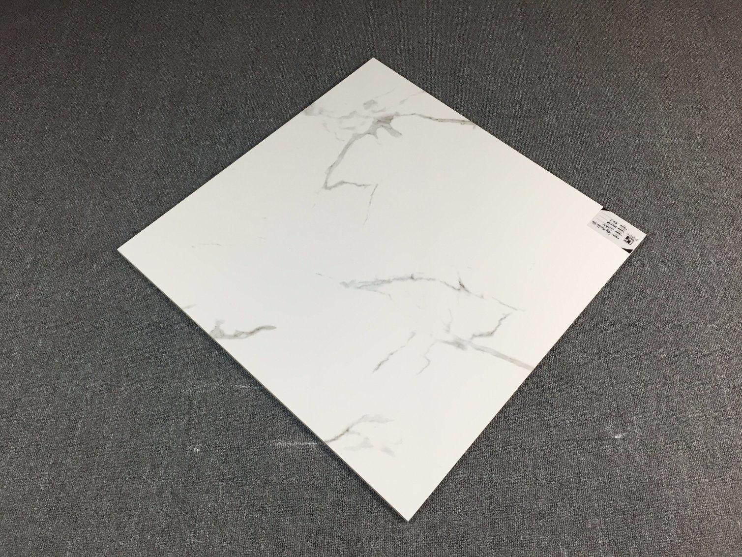 Manufacturer China Carrara White Glazed Ceramic Models Tile for ...