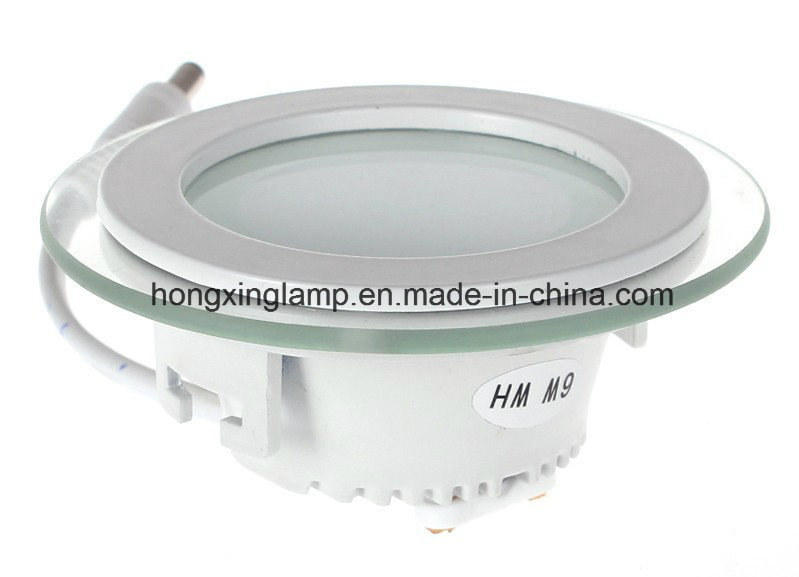 LED Downlight 9W 12W 18W Round Glass LED Panel Light