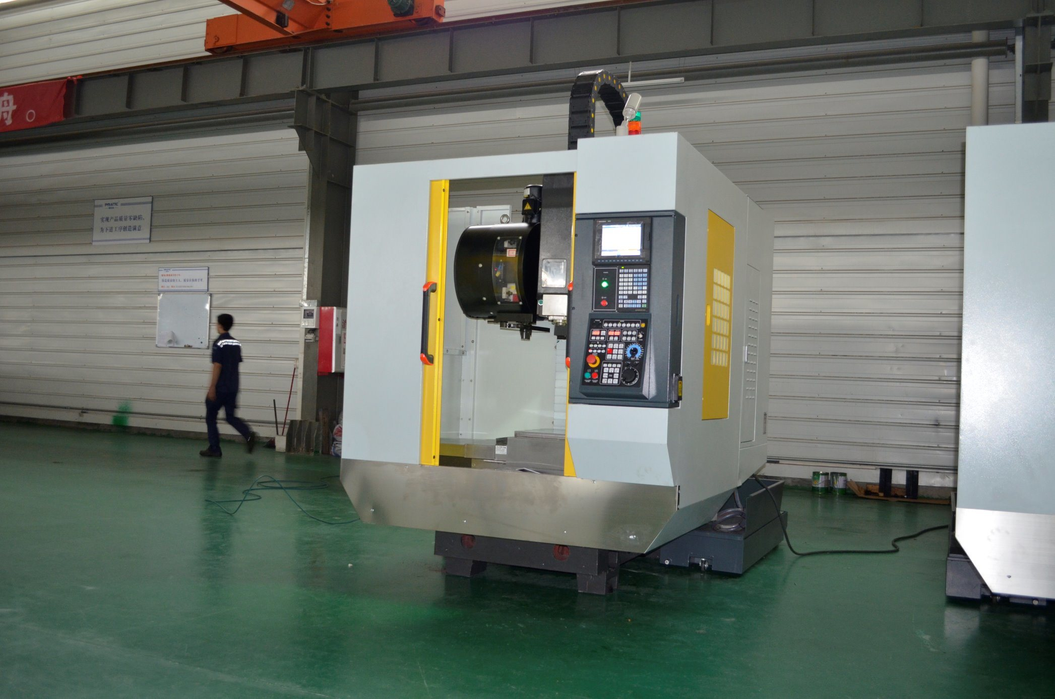 Vertical Aluminum Drilling Tapping and Milling Machining Center-Pqa-540 pictures & photos
