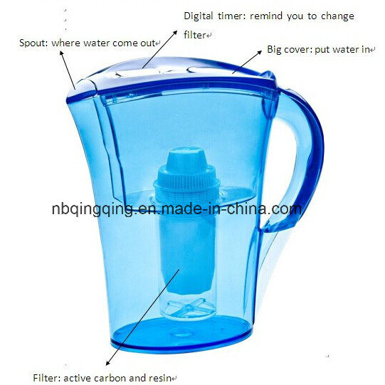 Portable Drinking Water Filter Jug in Fridge