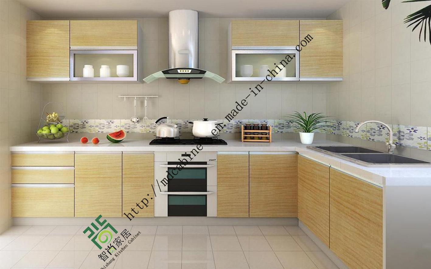 China 2016 New Design UV Kitchen Cabinet (zs-156) - China ...