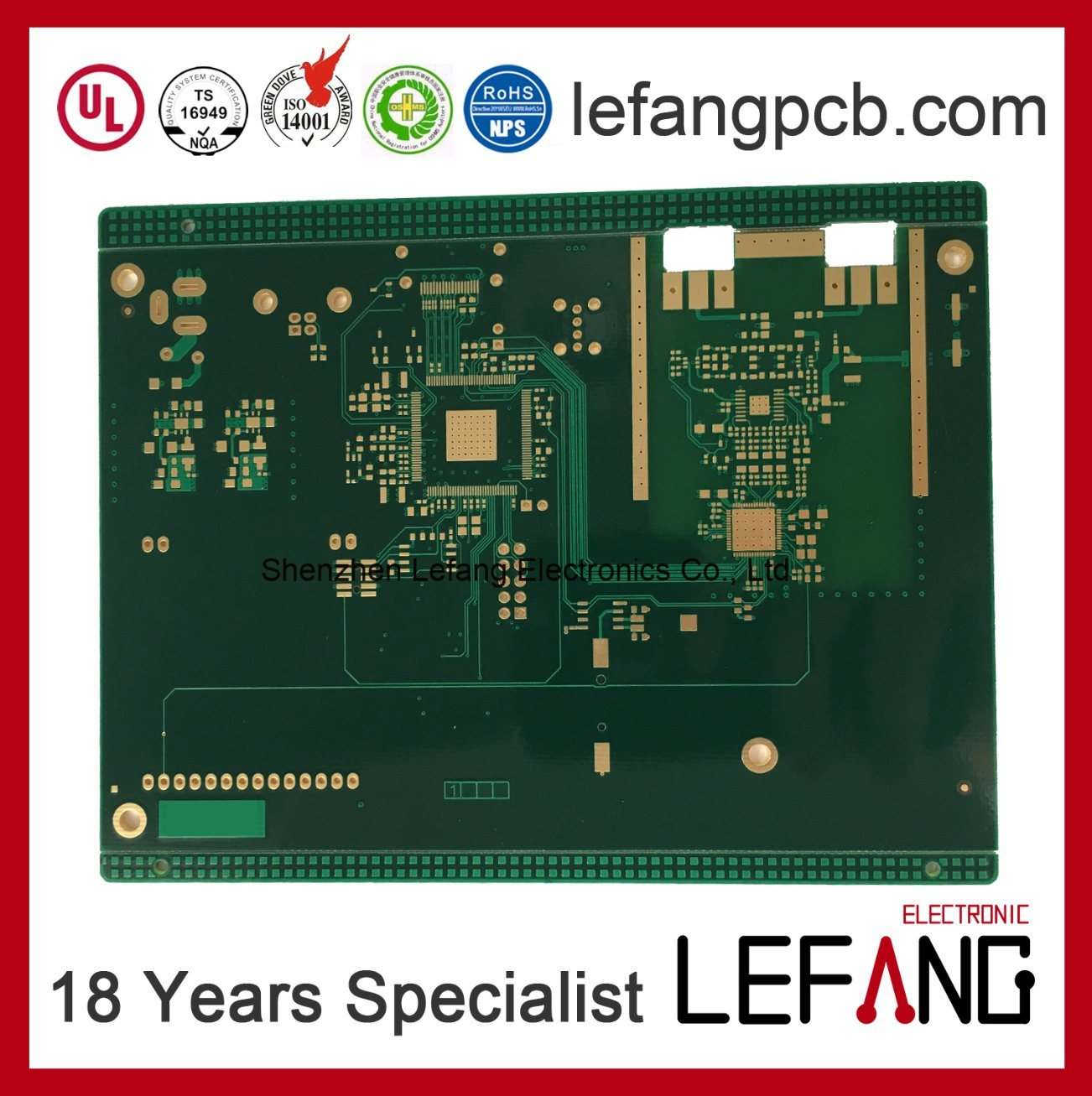 Wholesale Pcb Manufacturer Buy Reliable From Shenzhen Oem Electronic Printed Circuit Board Manufacturerpcb 10 Layers With Rohs Compliance