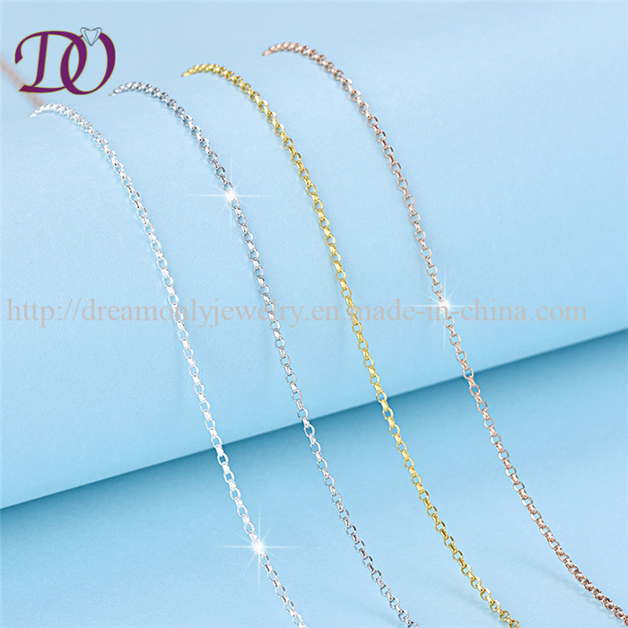 Factory Price 925 Silver Chain Sterling