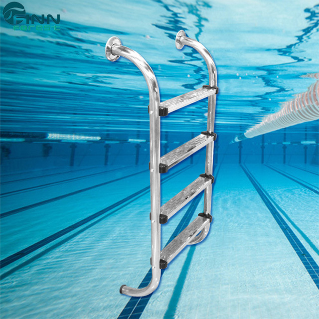 [Hot Item] Durable 2/3/4/5 Steps Stainless Steel Swimming Pool Ladder