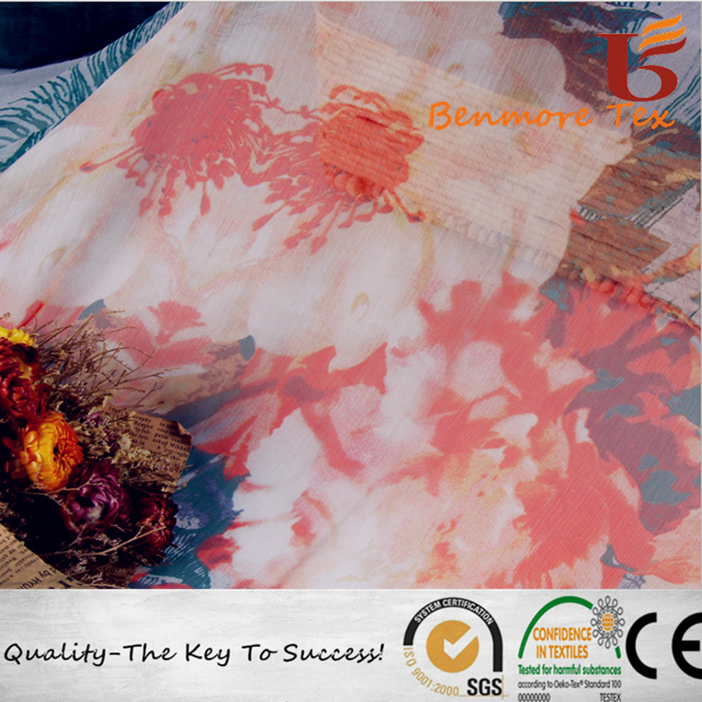 Chiffon Fabric/Print Chiffon Fabric for Women Dress pictures & photos