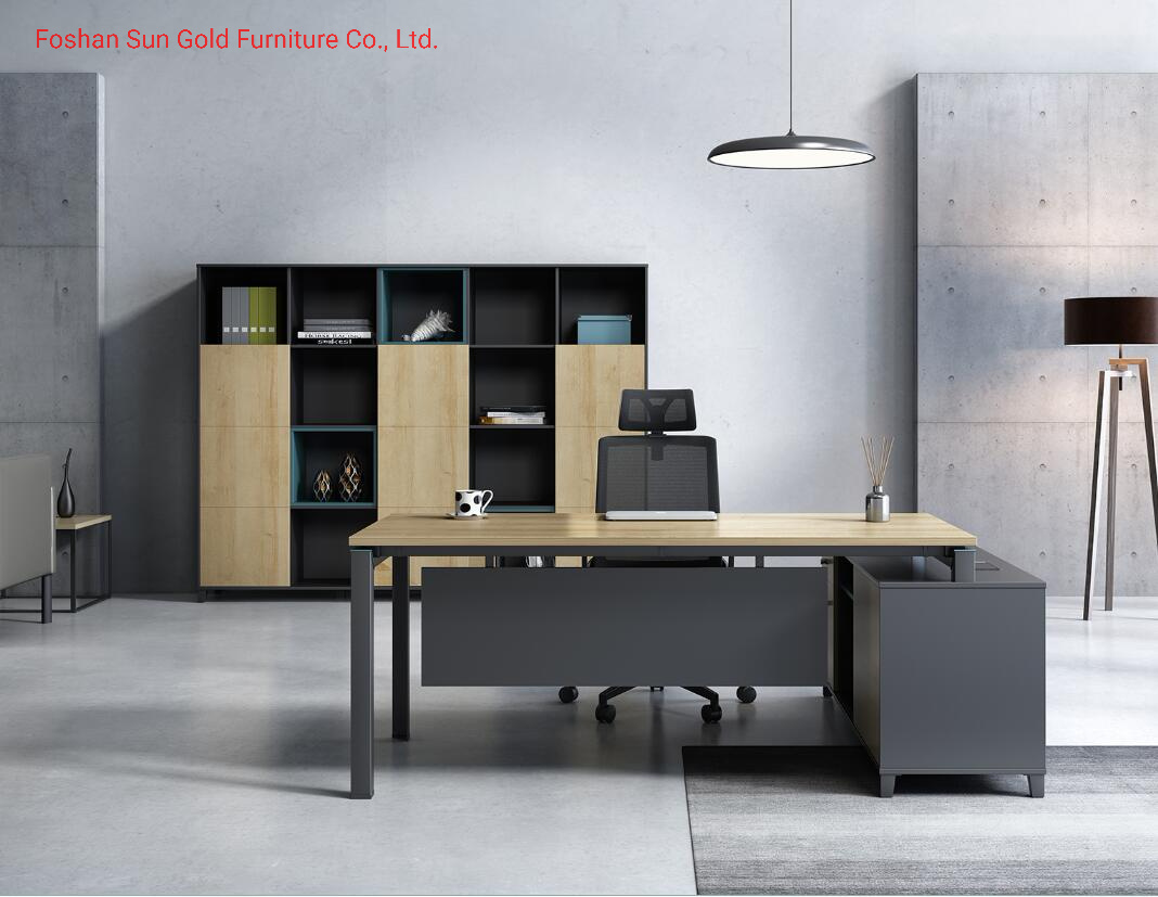 China Modern Contemporary Office Desk Demountable Wood Office