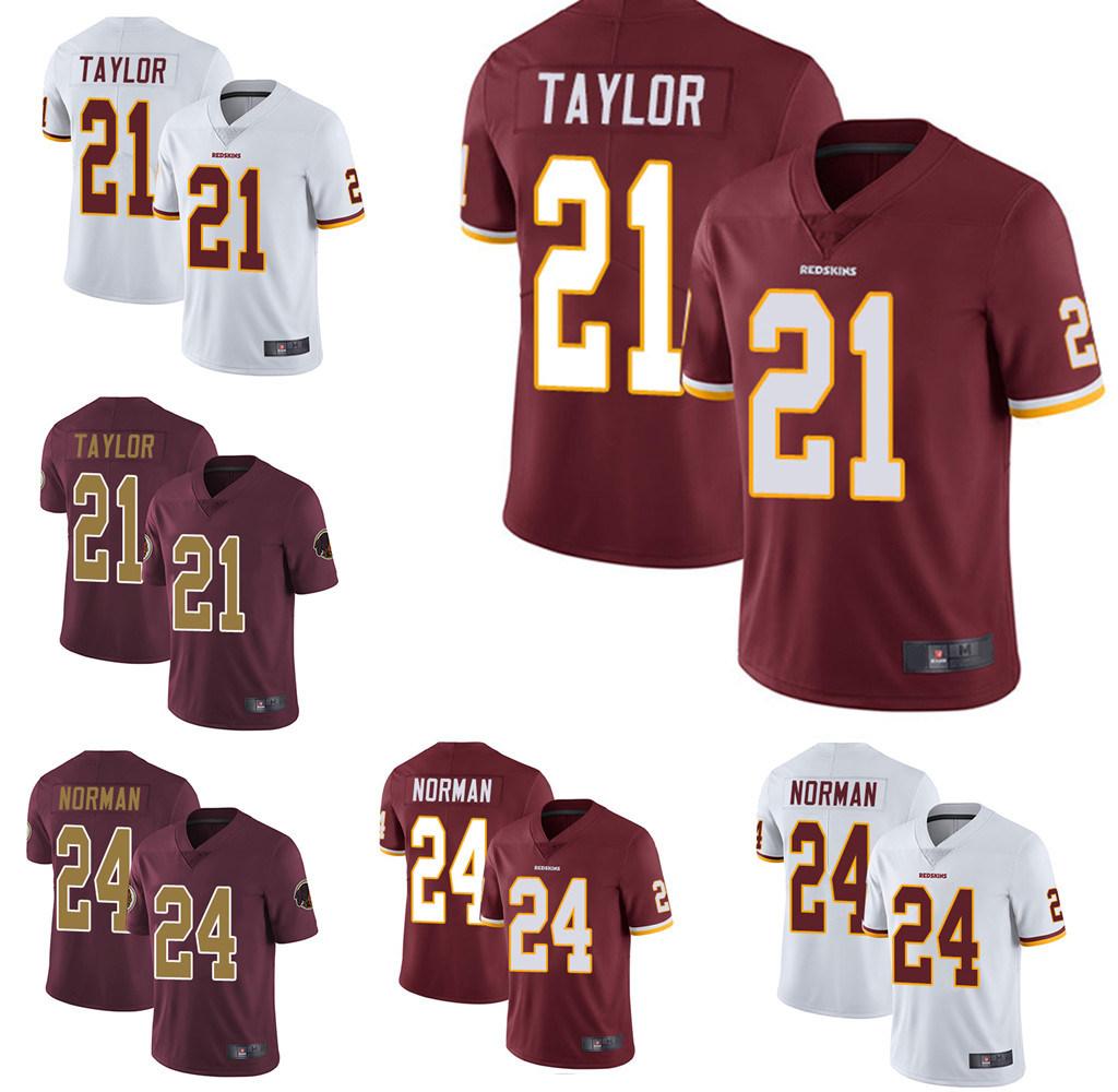 best service 70058 b628b [Hot Item] Washington Sean Taylor Josh Norman American Football Jersey