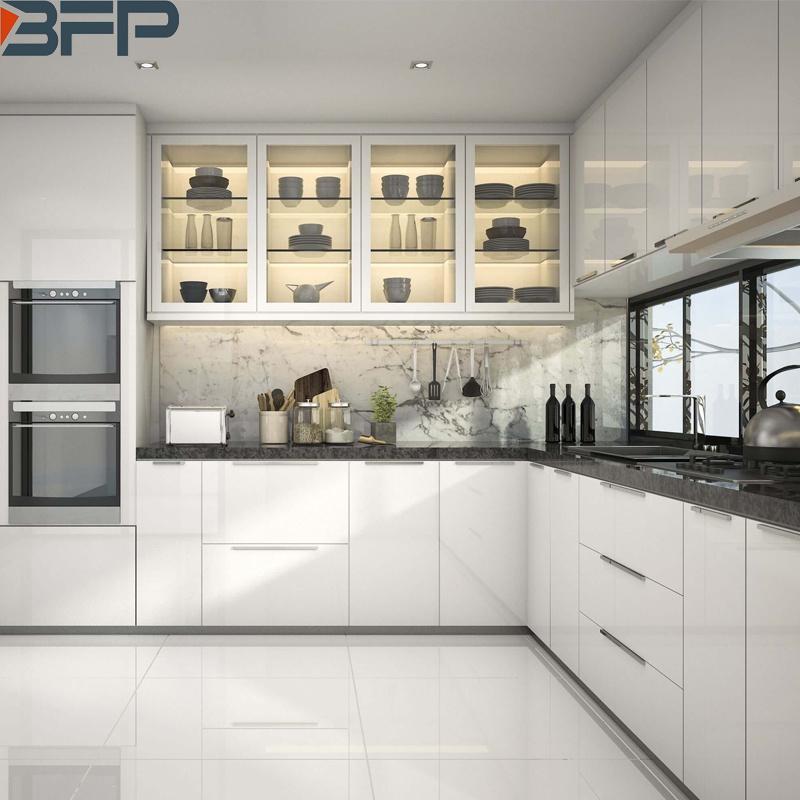 China Kitchen Cabinets, Modern L Shape Kitchen Cabinet Design