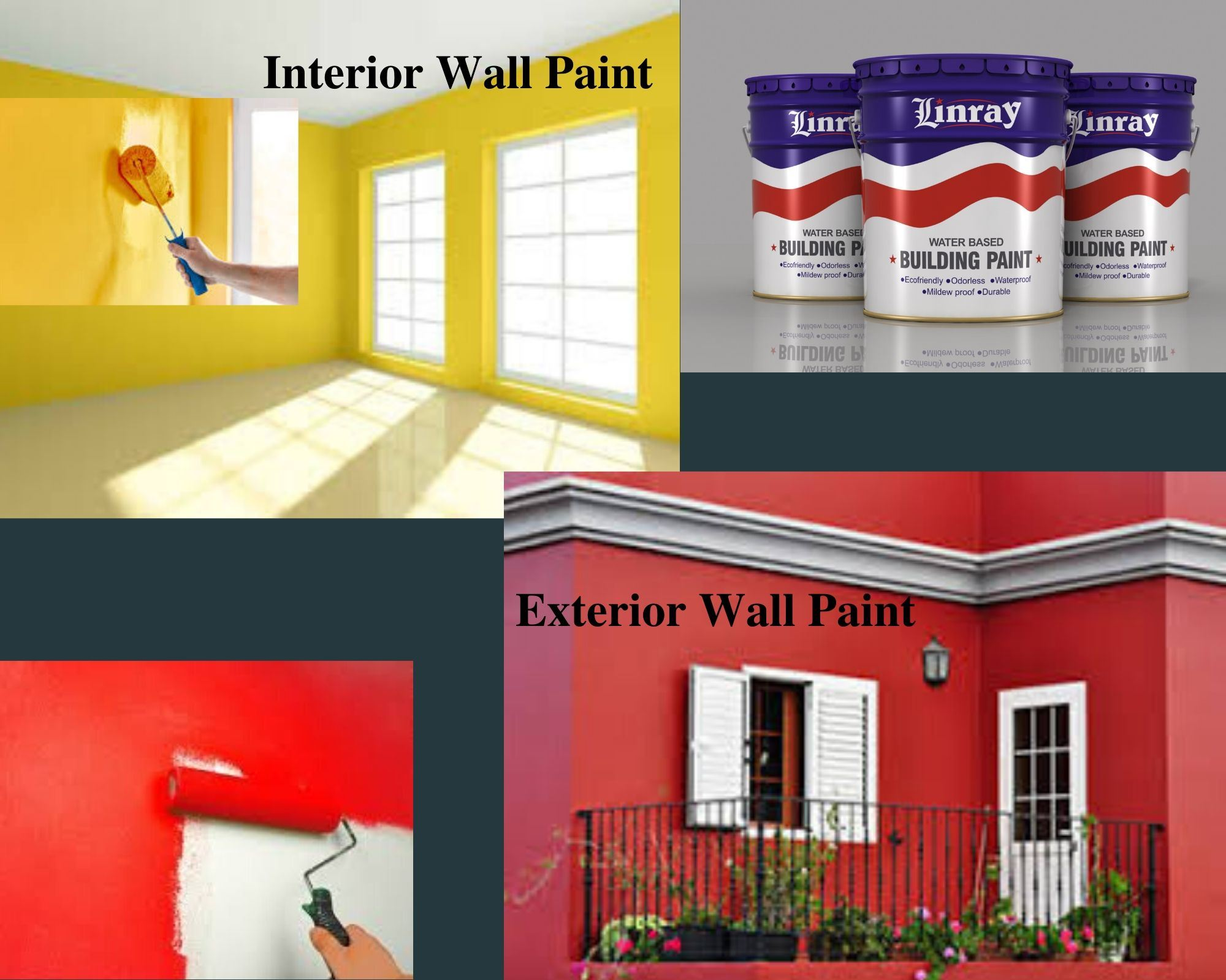 China Interior Exterior Paint Stone Spray High Quality