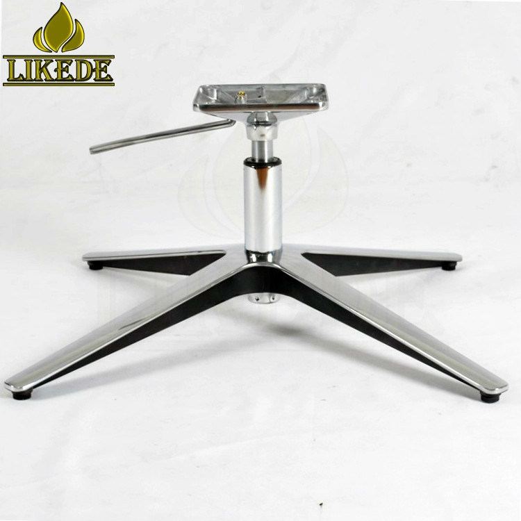 China Low Price 4 Star Swivel Chair Base Metal Sofa Base Leg Parts Height Adjustable Rotating Aluminum Chair Base Leg China Aluminum Chair Base Aluminum Chair Leg