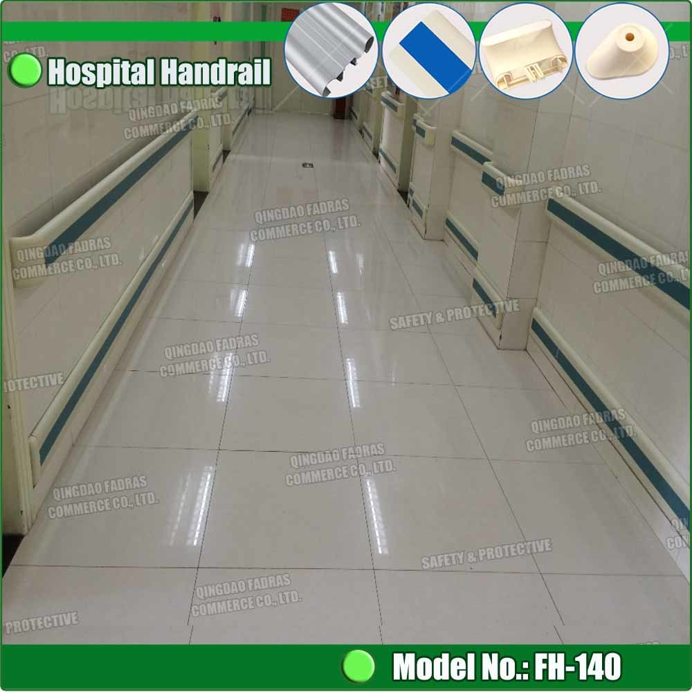 China Hospital Pvc Crash Rail Wall Guard Rails For