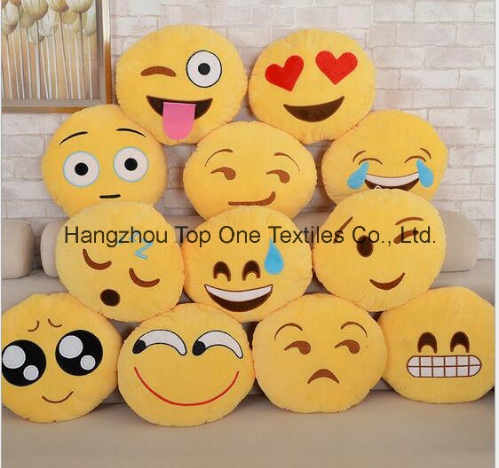2017 Hot Popular Plush Emoji Pillows pictures & photos