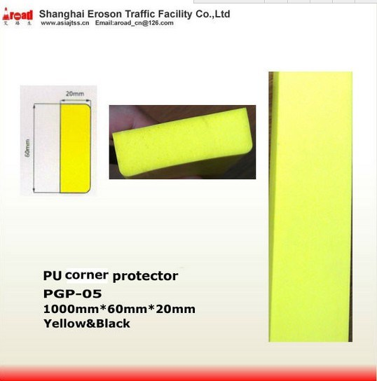 a Standard Block Yellow/ Black PU Corner Protector Damper pictures & photos