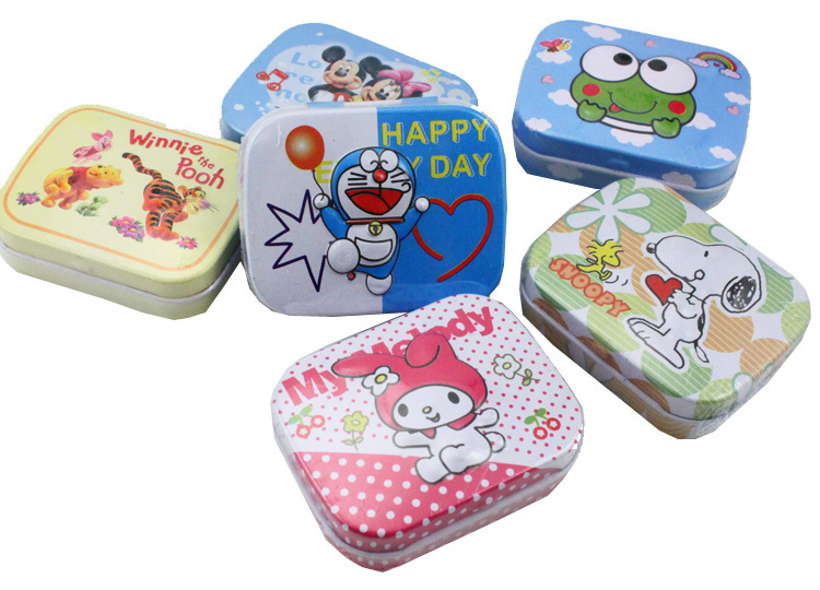 Cute Tin Box Mint Tins