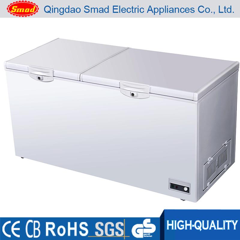 China 520l Top Open Chest Freezer Deep Freezer With Lock Key China Deep Freezer And Chest Freezer Price