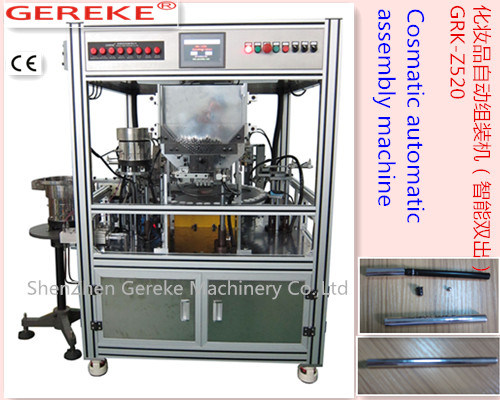 Cosmetic (eyebrow) Automatic Assemly and Filling Machine