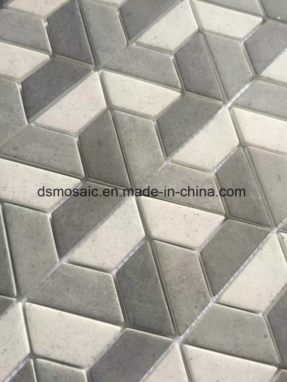 Newest Technology Ink Jet Printing Irregular Glass Mosaic Tile pictures & photos