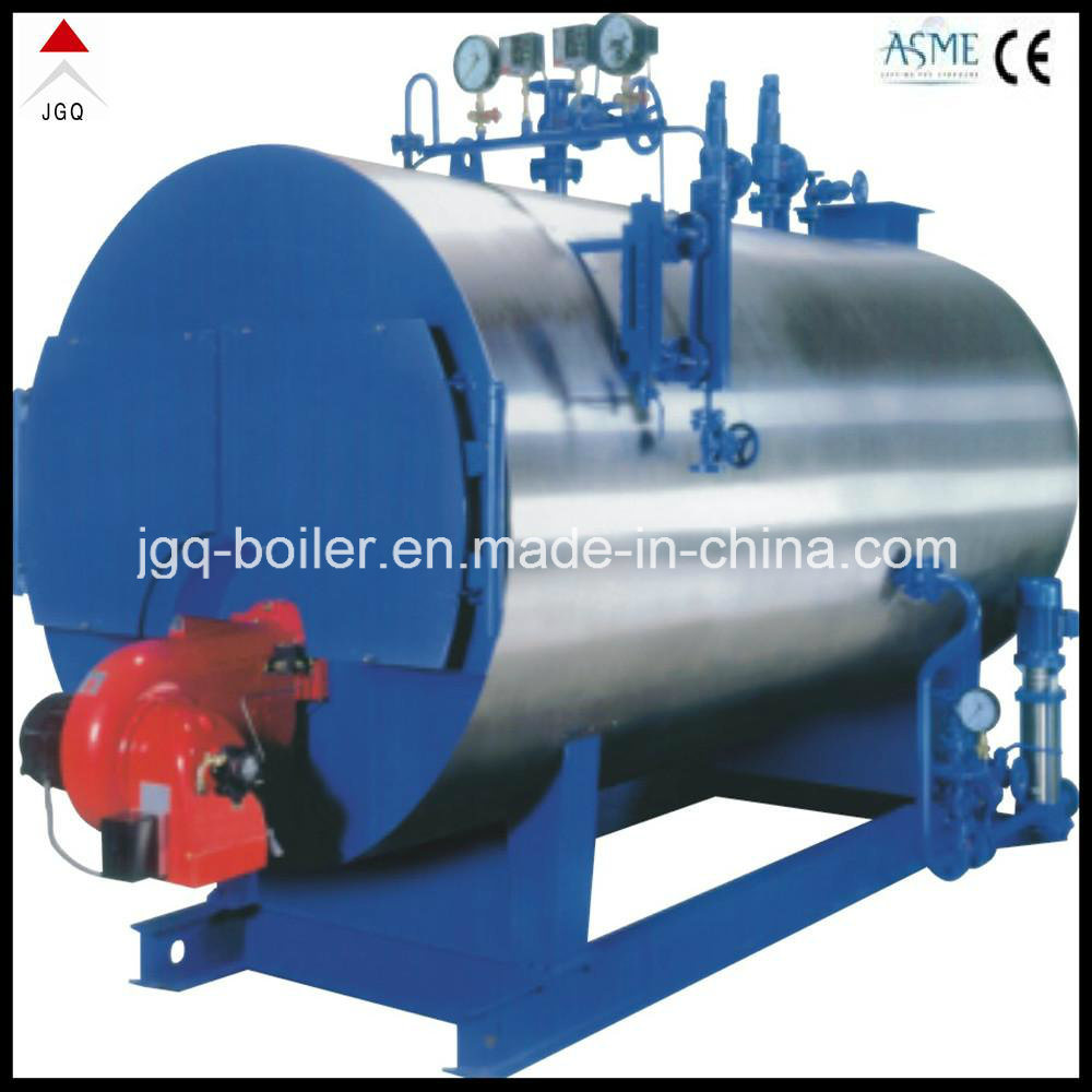 China Diesel Oil and Nature Gas Steam Boiler with Italian Baltur ...