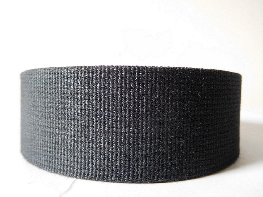 Black Aramid Fiber High Strong Webbing
